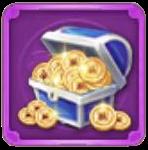 金貨宝箱の画像