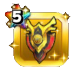 焔龍神の盾のアイコン