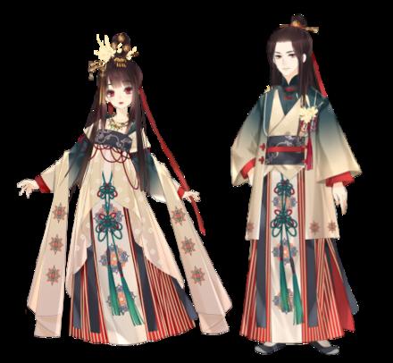 漢服の画像