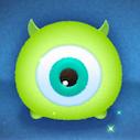 緑のツムの画像