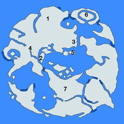 上の世界ダンジョンの場所