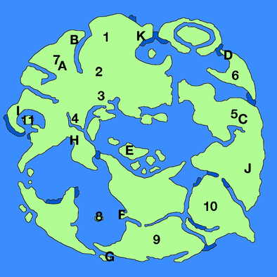 上の世界ワールドマップ