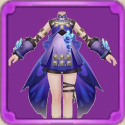 紫の羽の画像