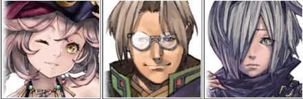 既存キャラクターの画像