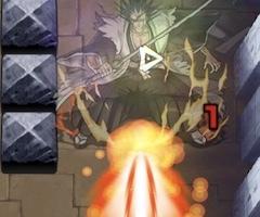 更木剣八のレーザー攻撃