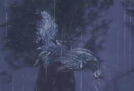 トビカガチ 樹上