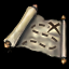 海賊船の宝の地図の画像