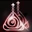 ルームティスの赤イヤリング画像