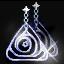 ルームティスの青イヤリングの画像