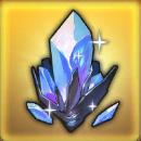 光る水晶の画像