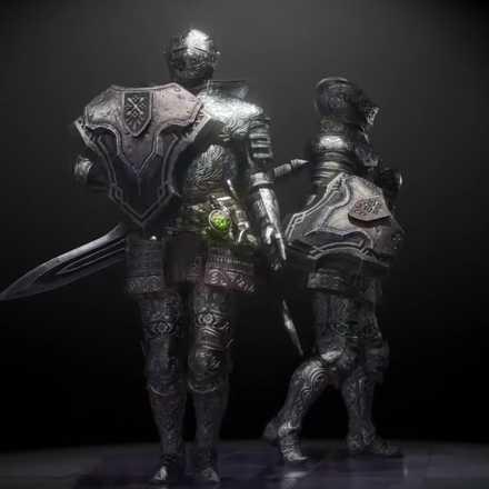 銀騎士の画像