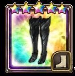 ブラックブーツの画像