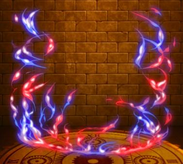 【神】火炎麗水のオーラのアイコン