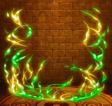 【神】疾風轟雷のオーラの画像