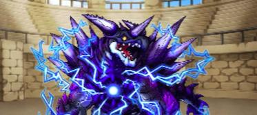 覇空の塔43階ボス紫電龍ツヴァイク