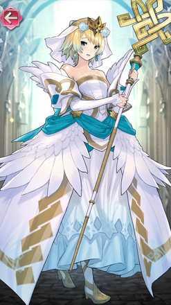 フィヨルム(氷雪の花嫁)の立ち絵