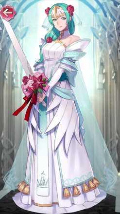 シグルーン(忠節の花嫁)の立ち絵