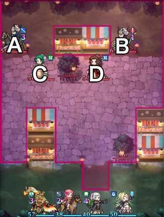 縛鎖の第22迷宮:第3ステージのマップ画像