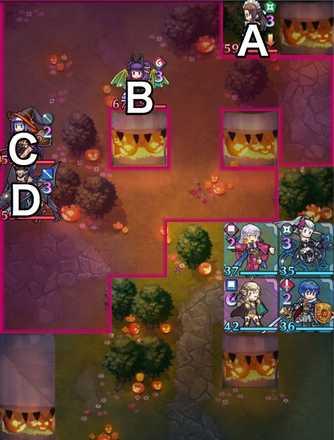 縛鎖の第22迷宮:第5ステージのマップ画像
