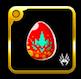灼彩の卵の画像