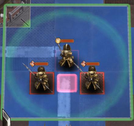 帝都防衛隊員(剣)巡警を優先して倒すの画像