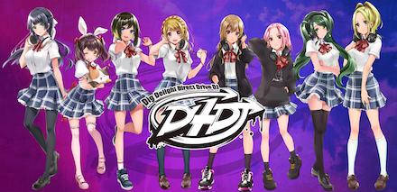 D4DJ HP・PPイラスト