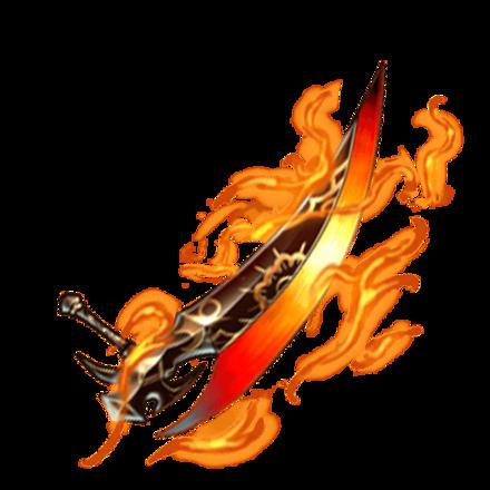 【神】狂炎トンファーブレードのアイコン