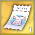 試着貸出チケットのアイコン