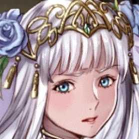 銀髪の花嫁の画像