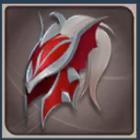 竜騎士の兜の画像