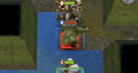 向かってくる敵の画像