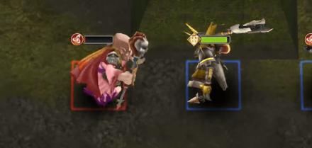 残る敵と宝箱の画像