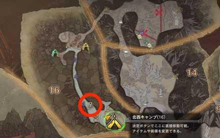 黄昏の石 マップ