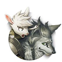 [子守り狼]ヴォルフと子山羊の画像