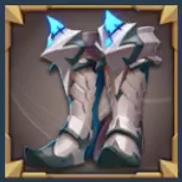 戦士の長靴の画像