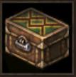 ルームティスの青イヤリング箱画像