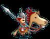 騎馬兵の画像