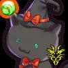 黒猫キナコのアイコン
