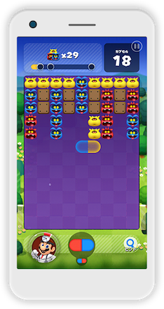 ドクマリ ゲーム画面