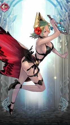 レーギャルン(夏色の炎姫)の立ち絵