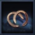 青銅蹄鉄の画像