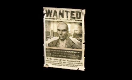 アズカバンの脱獄囚の指名手配ポスターの画像