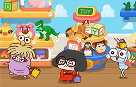 ピクタワ ゲーム画面