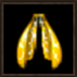 巨大女王アリの金色の羽画像