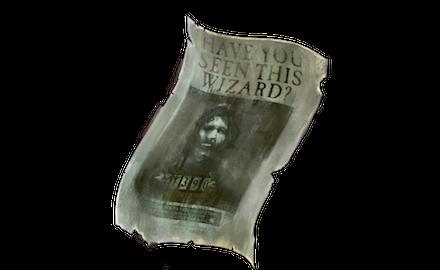 シリウス・ブラックの指名手配ポスターの画像