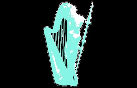 自動演奏ハープ