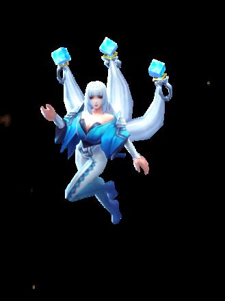 氷の巫女の画像