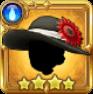 対灼熱魔法防御帽:黒の画像