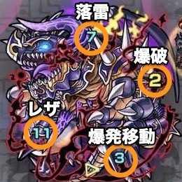 常闇の神殿 修羅場1ボス攻撃パターン