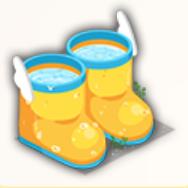 雨靴の水風呂の画像